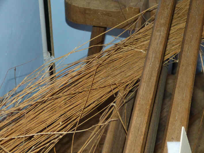 Flax strands